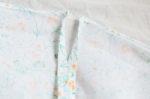 縫い代を開いた状態