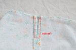 コの字型に縫った写真